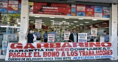 Conflicto de trabajadores de Garbarino