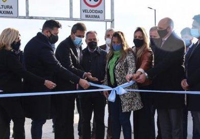Se inauguró el puente vehicular de San Antonio de Padua
