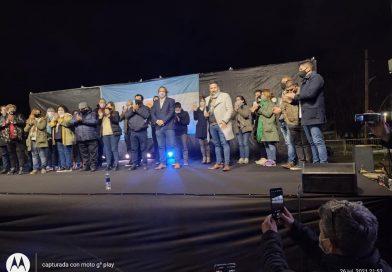 Merlo homenajeó a Eva Perón a 69 años de su paso a la inmortalidad