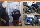 Detienen dos ladrones de motos, uno era menor